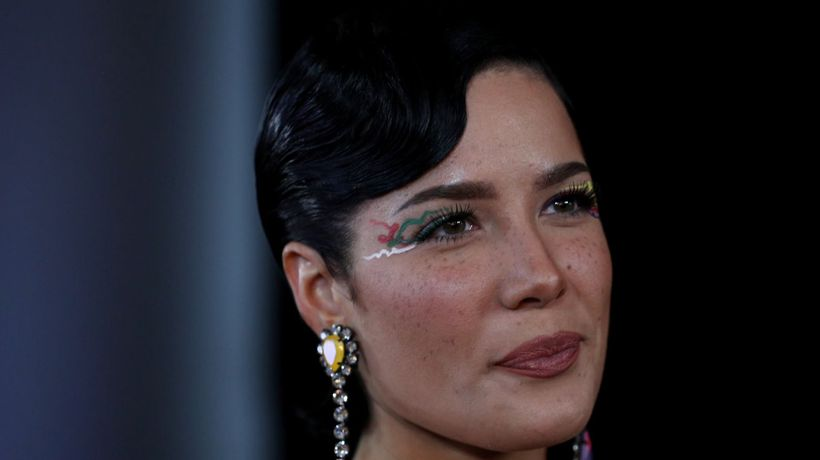 Halsey denies ignoring 'her black side'