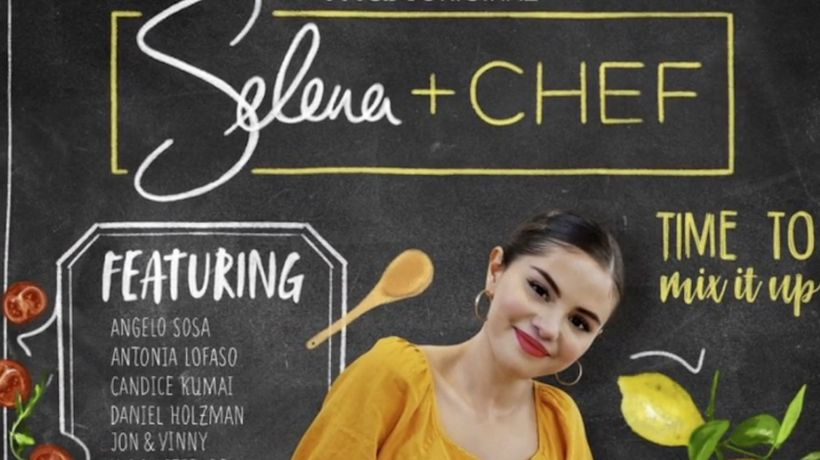 Selena Gomez gets cooking for new online series