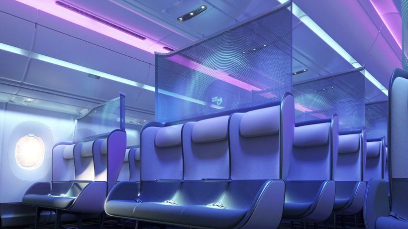 Designers Create 'Healthier Cabins' For Post-Pandemic Air Travel