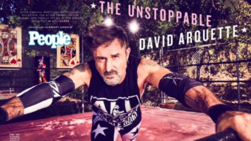David Arquette changed his ways after near-d*ath wrestling accident