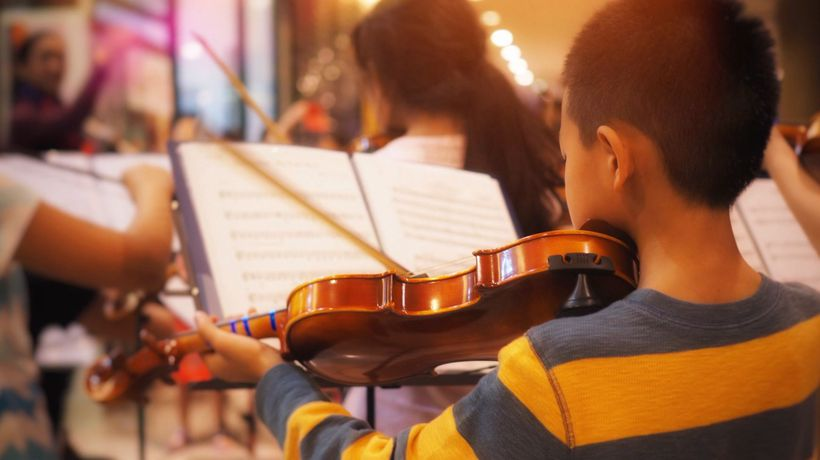 Learning a musical instrument is good for the brain