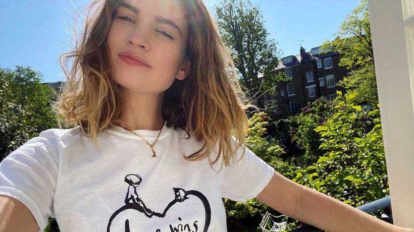 Lily James pulls out of TV news chat amid Dominic West drama