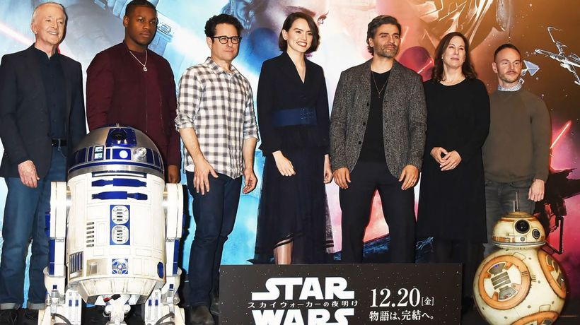 John Boyega had heart-to-heart with Kathleen Kennedy after 'Star Wars' complaints