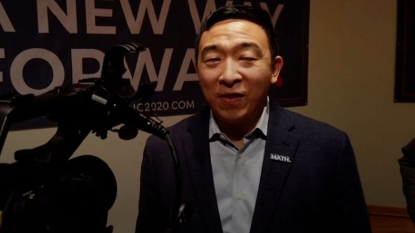 Andrew Yang Announces His Run For NYC Mayor