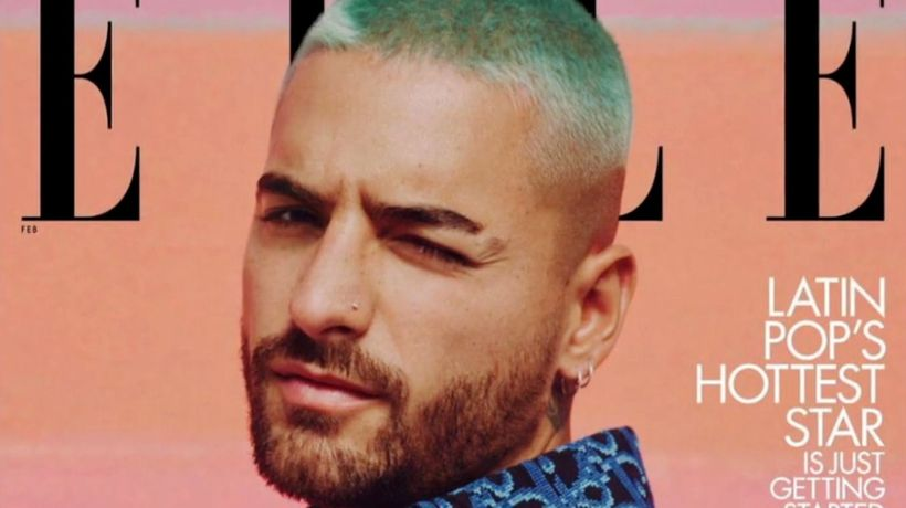 Maluma makes Elle U.S. history as first male cover star