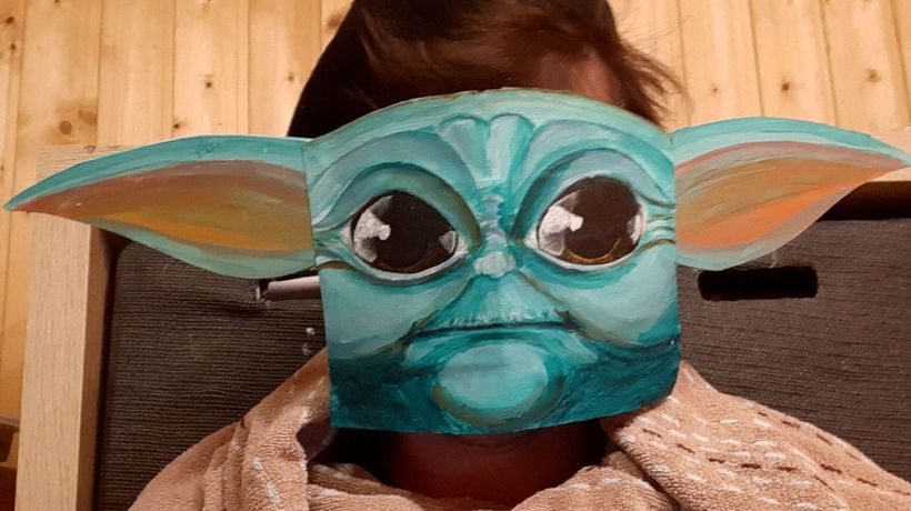 Austrian Artist Creates Quirky Face Masks Every Day In Lockdown Challenge