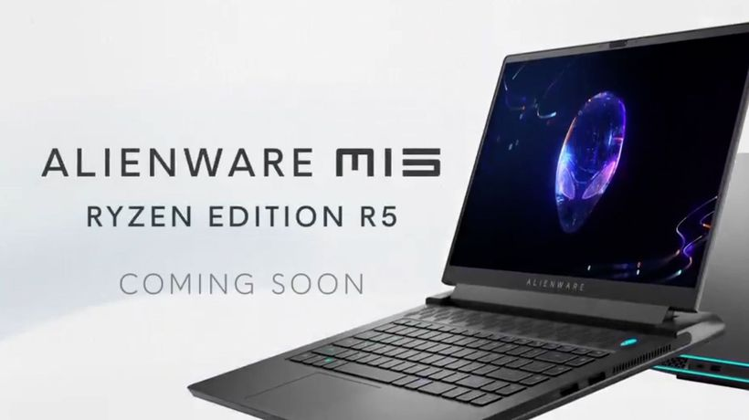 New AMD-based gaming laptop launched by Alienware