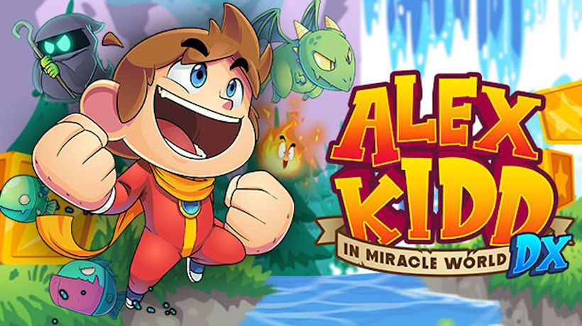 Alex Kidd Remake Due For Release On Steam in June