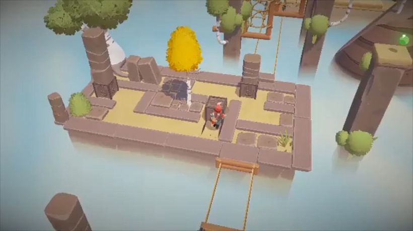 Charming puzzle platformer The Lightbringer announced for Nintendo Switch and PC