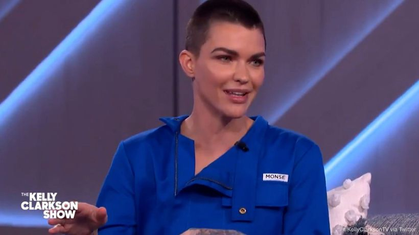 Ruby Rose asked Morgan Freeman to record her voicemail message