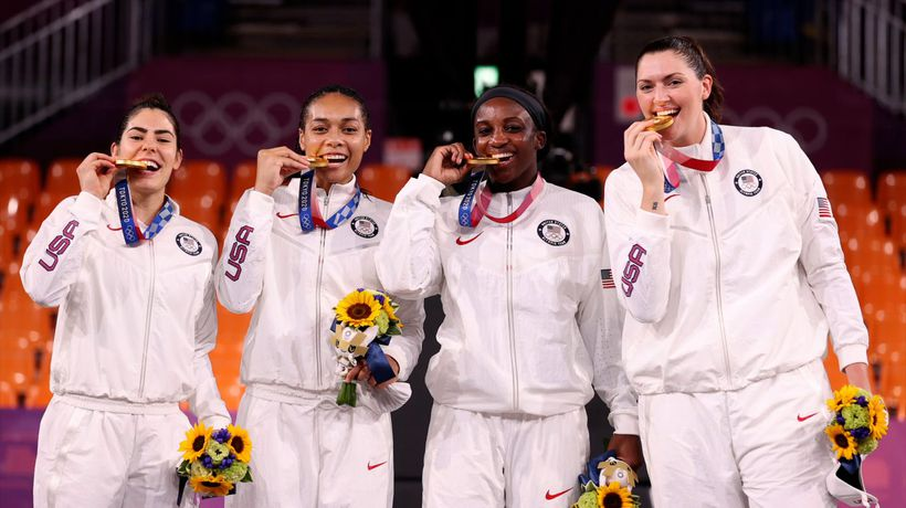 US Women's 3-on-3 Basketball Team Wins Gold in Sport's Olympic Debut