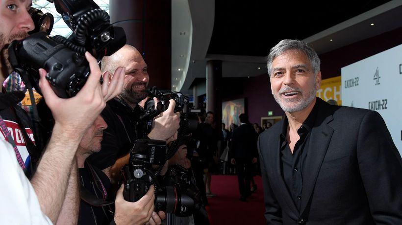 George Clooney among thousands affected by dramatic flooding in Italy
