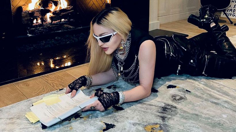 Madonna 'almost finished' with biopic script