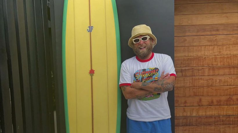 Jonah Hill hits back after being accused of 'ruining surfing'