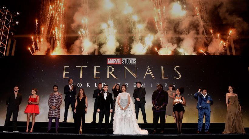 Eternals cast hit by Covid-19 scare