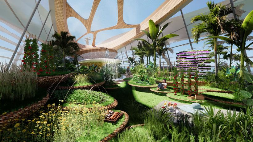 Garden Of The Seas: Superyacht Concept Includes Gigantic Greenhouse And Vegetable Garden
