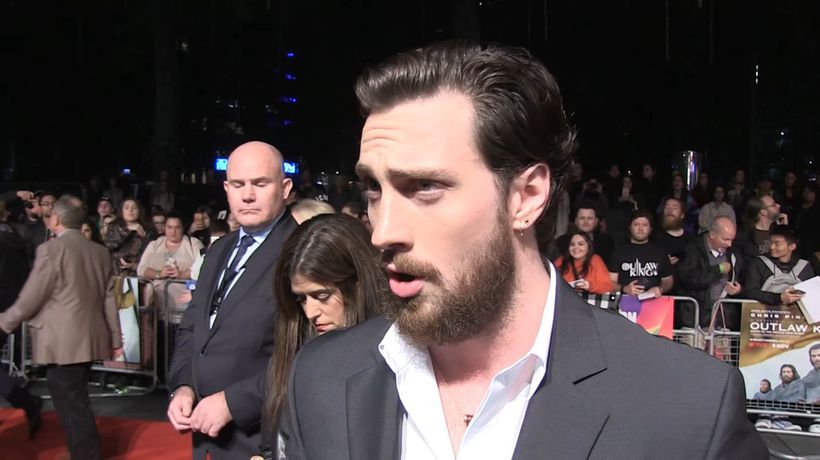 Aaron Taylor-Johnson on working in 'Outlaw King'