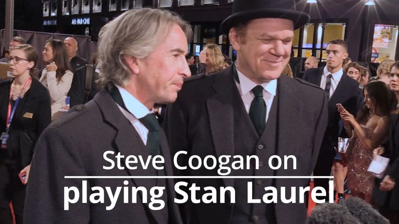 Steve Coogan: I had the best shot at getting Laurel character right