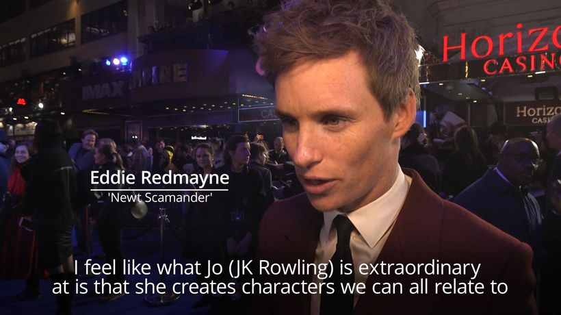 Eddie Redmayne says Fantastic Beasts sequel reflects 'seismic' political changes