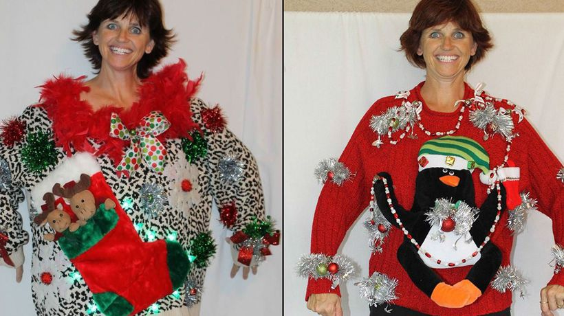Ugly Christmas Sweaters Are Big Business For Single Mother