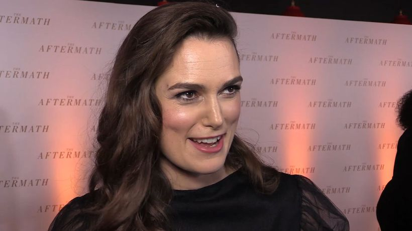 Keira Knightley opens up about her character in 'The Aftermath'