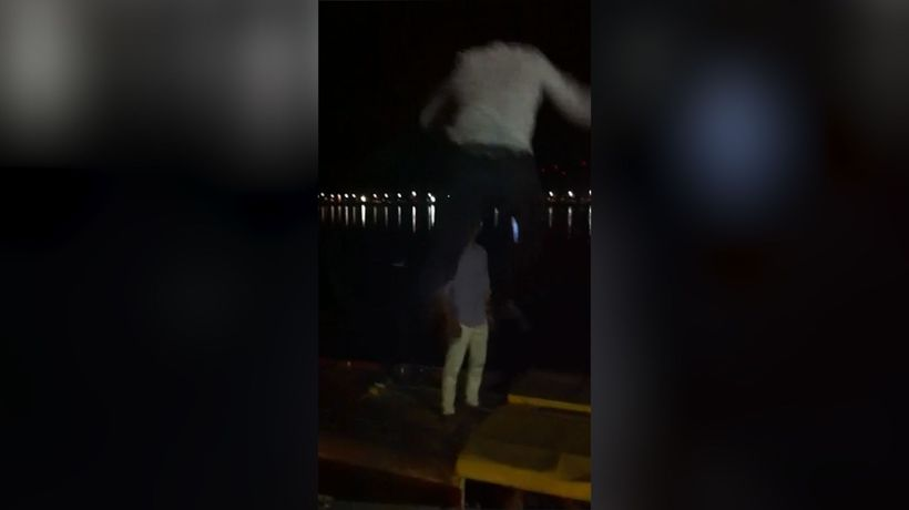 Parkour goes wrong!