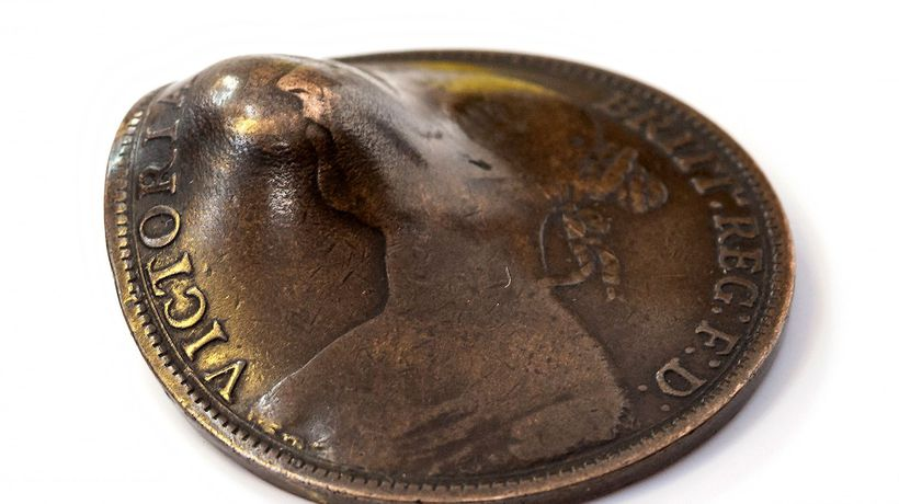Lucky Penny That Saved WWI Soldier's Life Goes Up For Sale