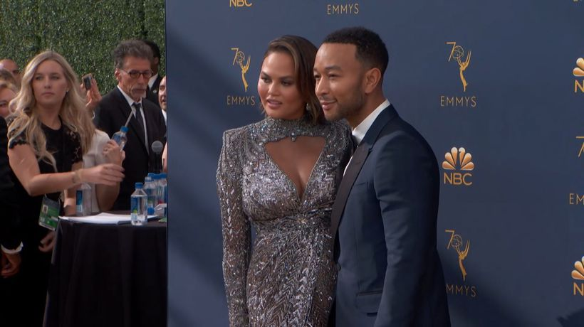 John Legend starts his day with salad