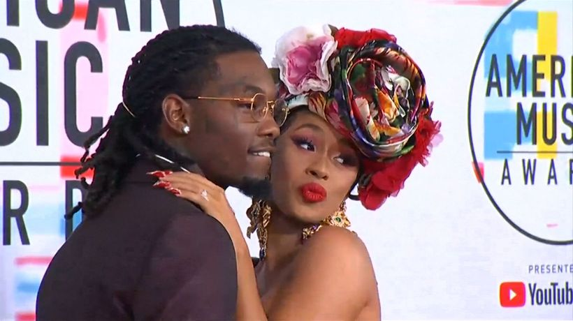 Offset and Cardi B's daughter is a daddy's girl
