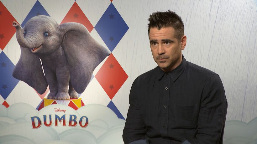 Colin Farrell reveals his favourite Disney movie!