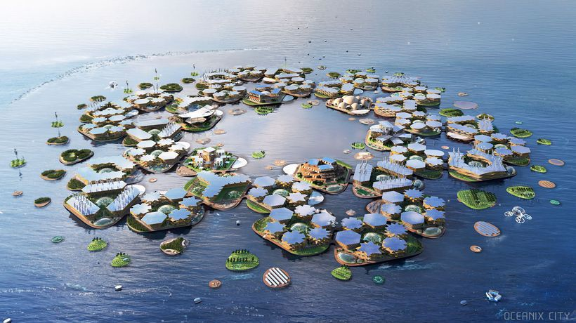 Floating City Of The Future Unveiled To The UN To Help Tackle Natural Disaster Destruction