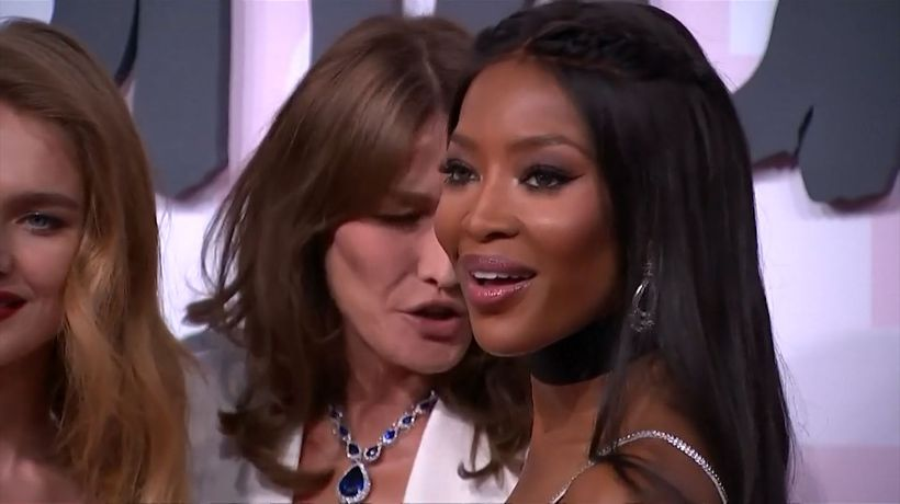 Naomi Campbell still battling racial barriers in fashion