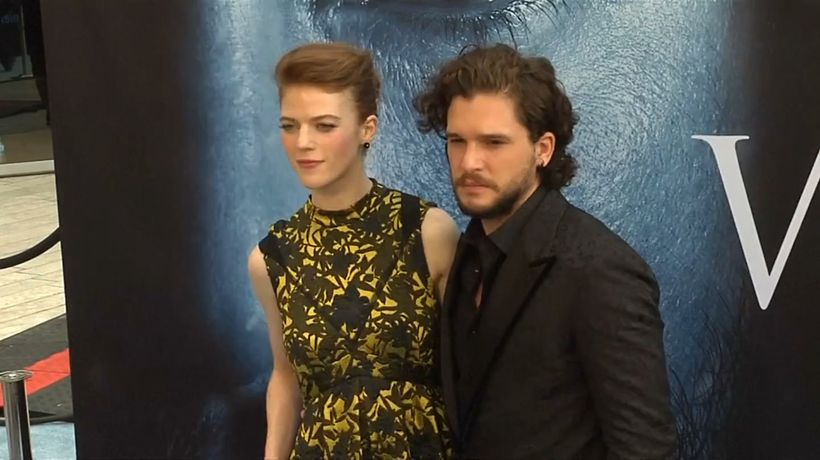 Kit Harington 'can't stand' watching wife Rose Leslie kiss other actors on screen
