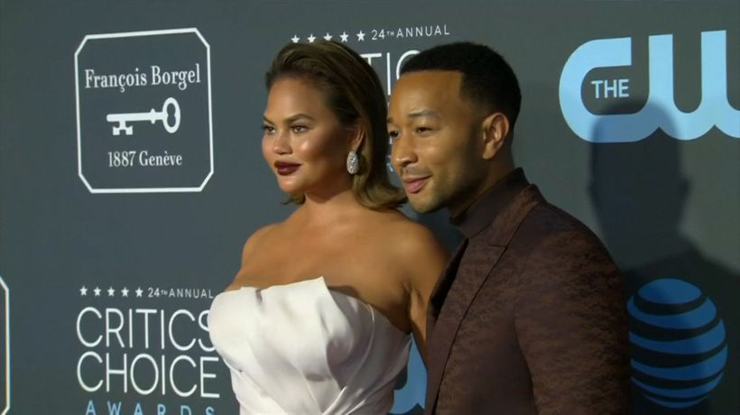 Chrissy Teigen apologises after tweeting 'The Voice' victory