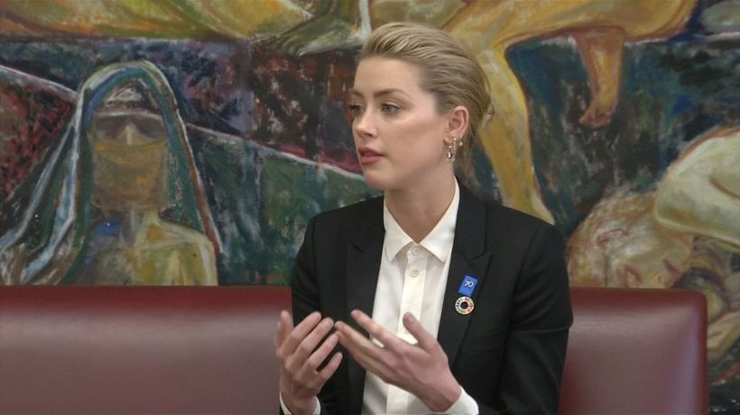 Amber Heard throws support behind revenge p*rn bill at U.S. Capitol
