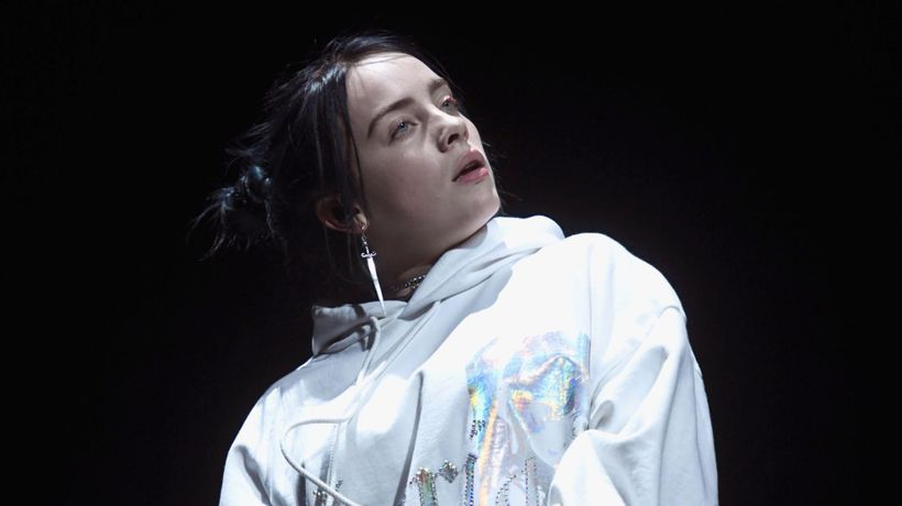 Billie Eilis is still learning to take care of her mental health