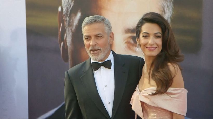 George Clooney concerned about children's safety amid wife's ISIS battle