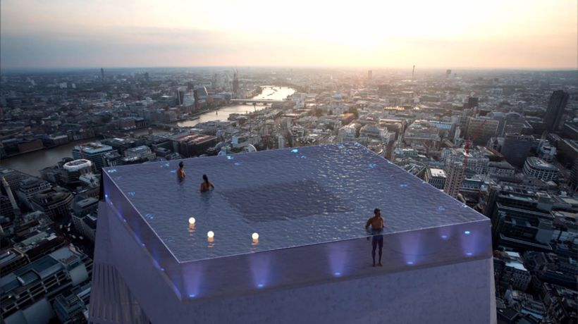 London Set To Get The World's First 360-Degree Infinity Pool On Top Of A Skyscraper