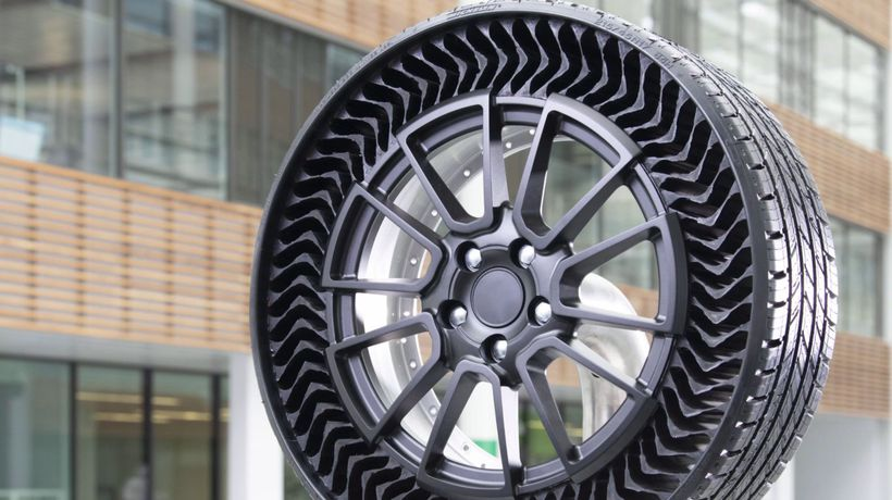 Puncture-Proof Airless Tyre Could Eliminate Flats