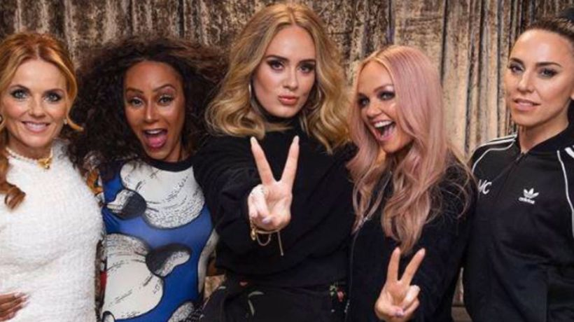 Adele partied with the Spice Girls after their final reunion show