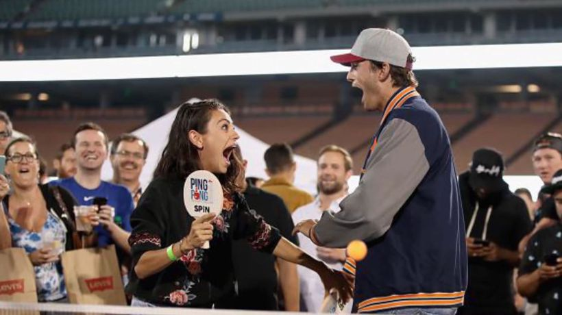 Ashton Kutcher and Mila Kunis poke fun at split rumours in hilarious video