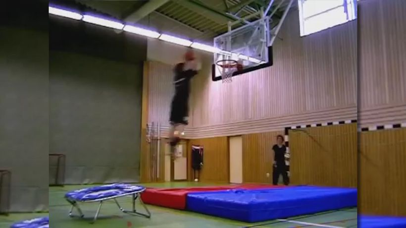 Basketball fail
