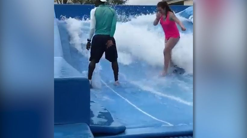 Surfing fail!