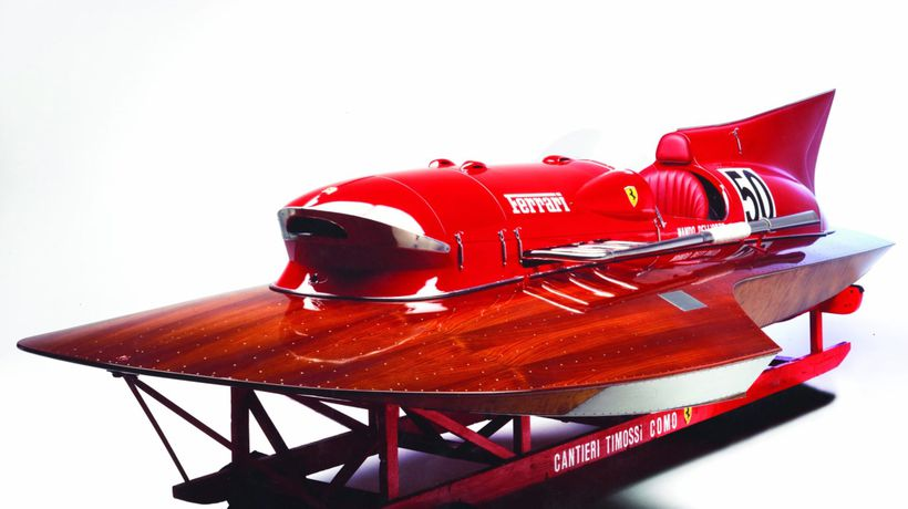 The GBP1.5m Boat: Only Ferrari Boat In The World That Set World Speed Record Is Going Up For Sale