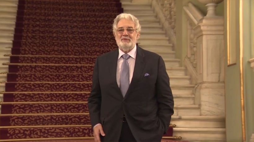 Celebrity Close Up: Placido Domingo