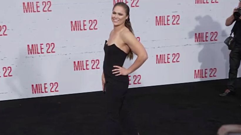 Ronda Rousey nearly loses finger filming TV Show