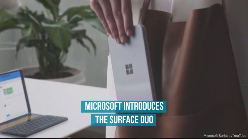 Microsoft Introduces the Surface Duo