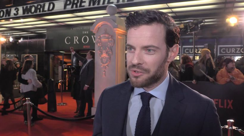 Daniel Ings calls the new season of 'The Crown' a five star production in every sense of the word