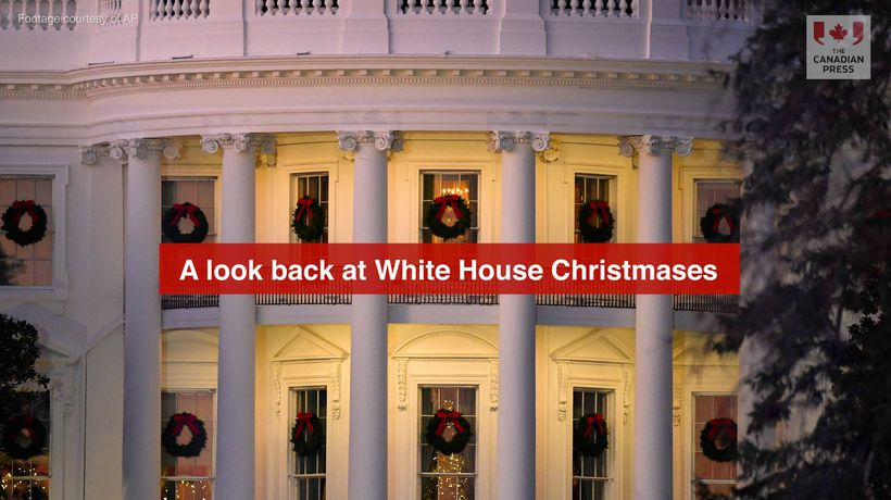 A Look Back at White House Christmases