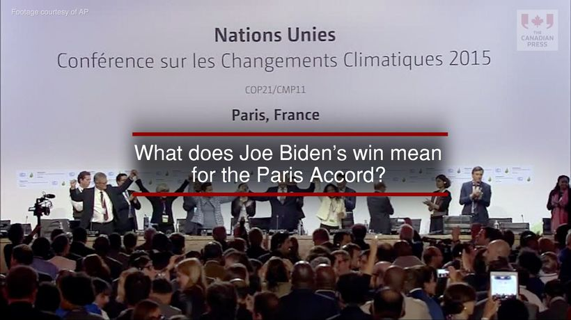 What Does Joe Biden's Win Mean for the Paris Accord?